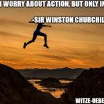 Motivationsspruch: Churchill