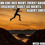 Motivationsspruch: Albert Einstein & Ideen