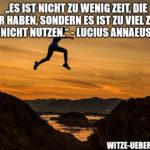 Motivationsspruch: Seneca & die Zeit